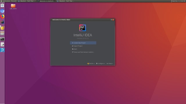 LLinux on DeX7