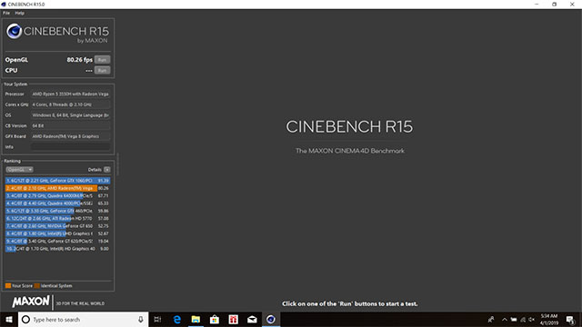 cinebench 2 fx505dy