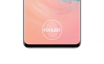 galaxy s10 fingerprint fooled