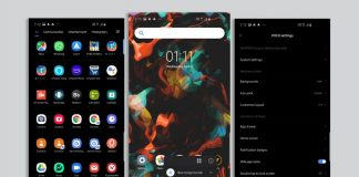 how to poco launcher dark mode