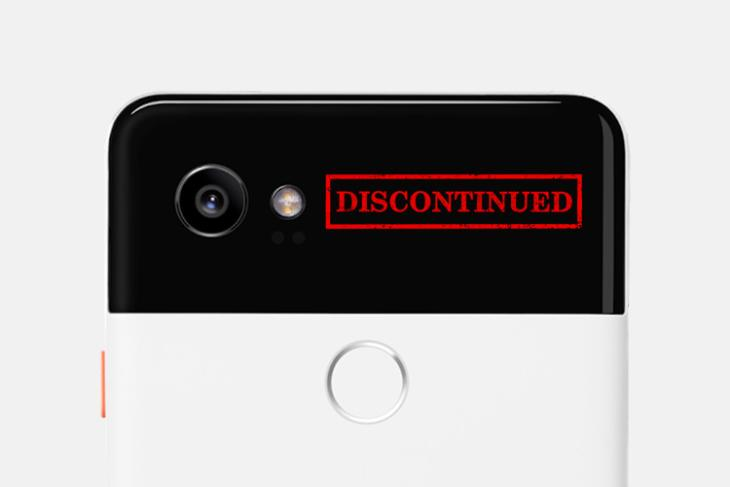 pixel 2 discontinued featured