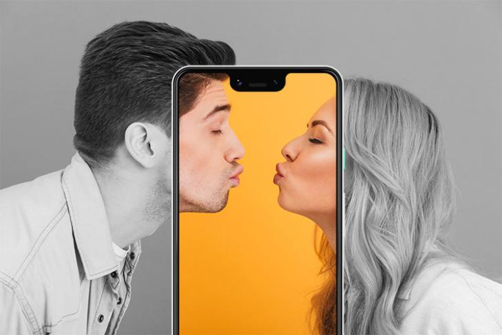 pixel 3 ai kissing detection