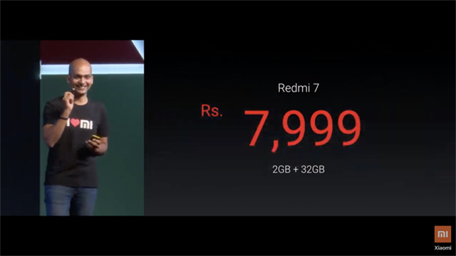 Xiaomi Launches Redmi Y3 and Redmi 7 in India; Starting at Rs 7,999