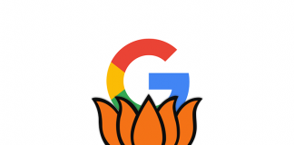 bjp ad spend google platform