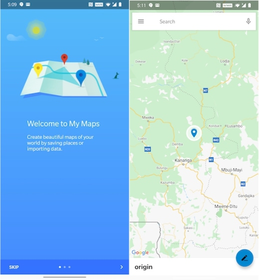 11. My Maps -Best Google Apps that You Have not know about