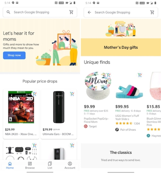 16. Google Shopping - Best Google Apps to use Today