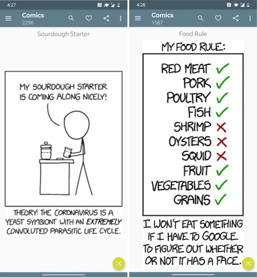 4. Easy xkcd