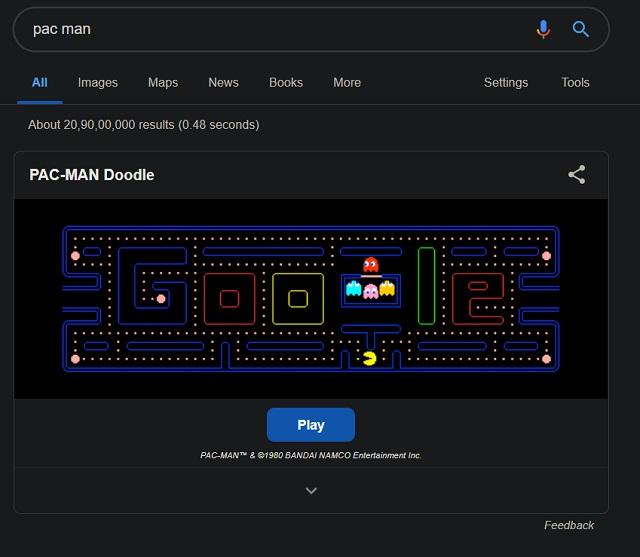 4. Pac Man