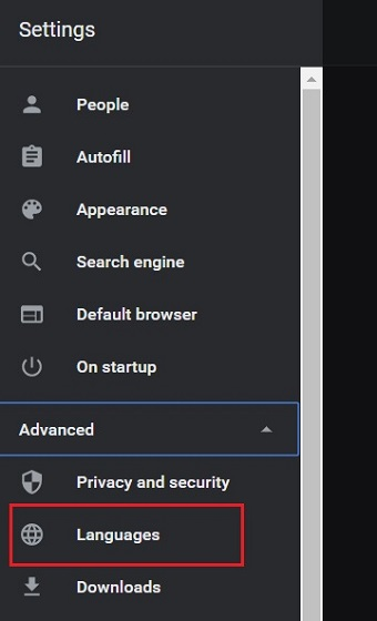 Change Language in Google Chrome (Windows, Linux and Chrome OS) 2