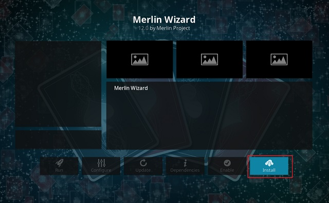 Clear Cache on Kodi Using Merlin Wizard Add-on 10