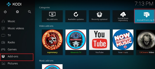 How to Install Kodi Repository 1
