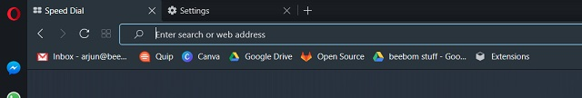 Import Chrome Bookmarks to Opera 4