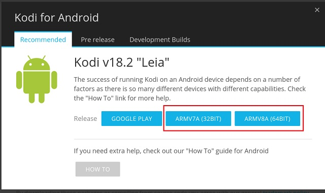 Install Kodi on Chromebook without the Google Play Store 1