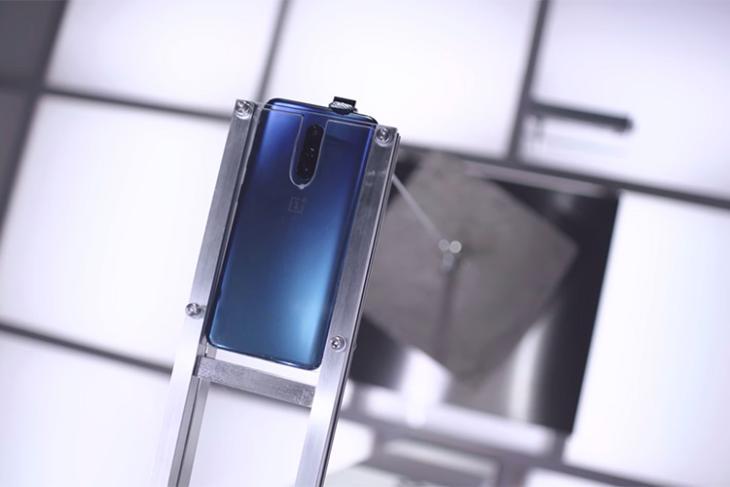 OnePlus 7 Pro pop-up camera weight