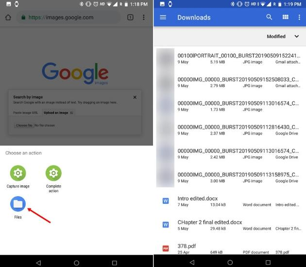 Reverse Image Search on Phone Using Google Images Desktop Site (Android and iOS) 3