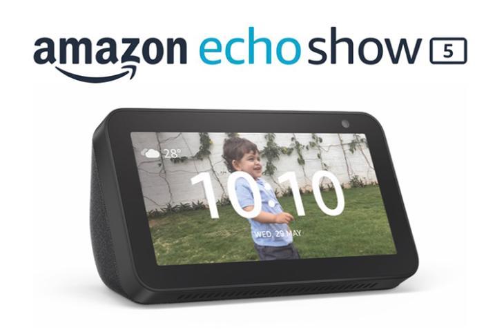 amazon echo show 5 launched india