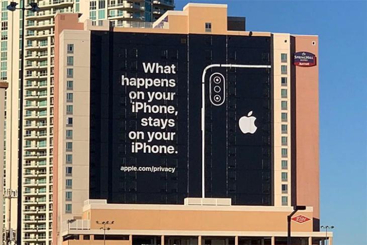 apple vegas billboard