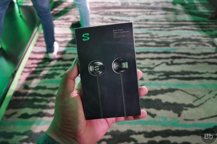 black shark 2 earphones