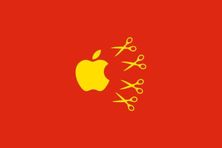 china could hurt apple profits