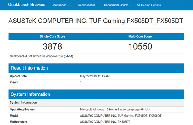 Asus TUF Gaming FX505 DT Review: A Pretty Solid Gaming Laptop at an Affordable Price