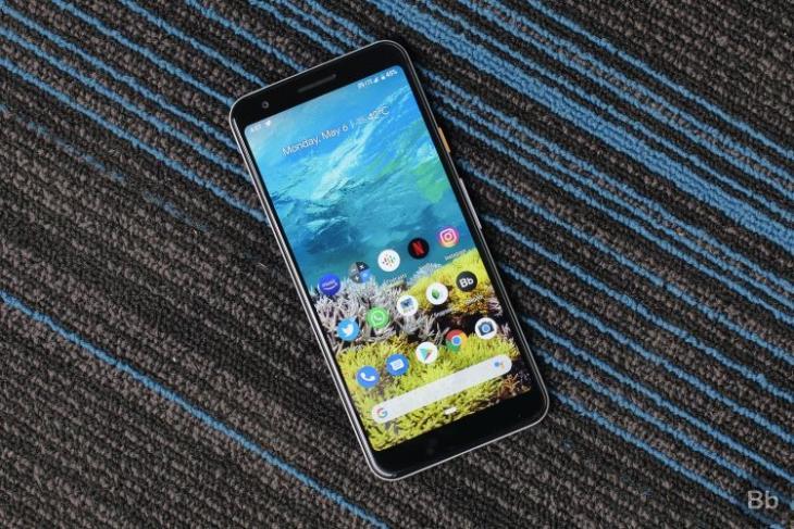 pixel 3a display