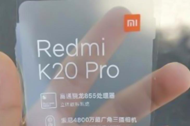 redmi flagship specs leaked k20 pro