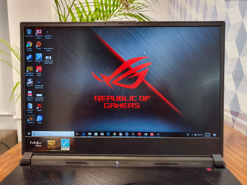 Asus ROG Zephyrus GX531GW Review: Insane Performance Packed in a Sleek Body