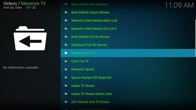 7. Maverick TV