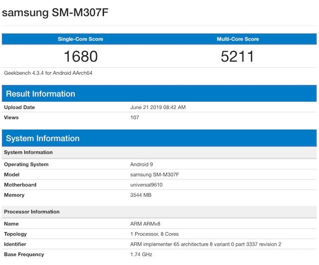 Galaxy M30s Leak Shows Updated Processor, Camera Improvements