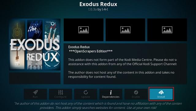 Get Exodus on Kodi 5