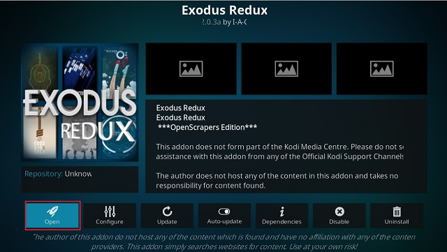 Get Exodus on Kodi 6