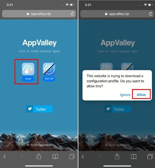 Installieren Sie Kodi unter iOS