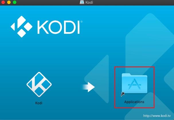 Installieren Sie Kodi unter macOS 2
