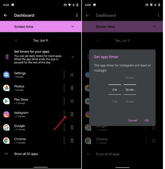 Limit Instagram Usage with Digital Wellbeing on Android Devices (1)