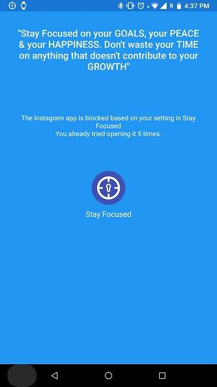 الحد من استخدام Instagram مع تطبيقات الجهات الخارجية على Android (لنظام Android Oreo و Lower) 3