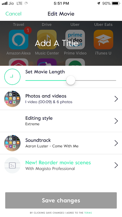10. Magisto - Instagram Video Editor