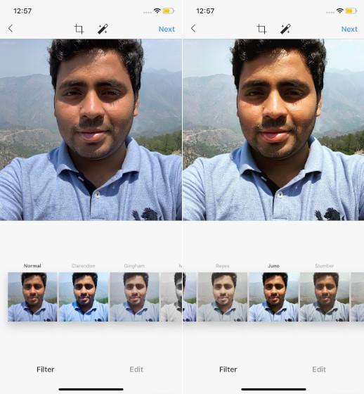 Juno Instagram Filter