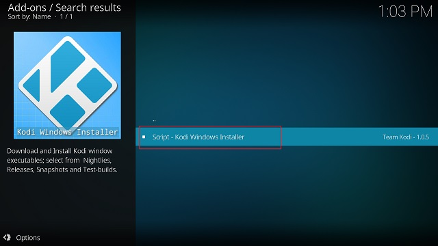 Update Kodi with a Standalone Add-on (4)