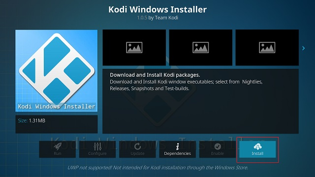 Update Kodi with a Standalone Add-on (5)