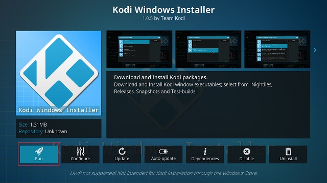 Update Kodi with a Standalone Add-on (6)