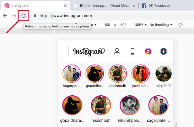 Use Instagram for Mac Without Restrictions on Chrome 3