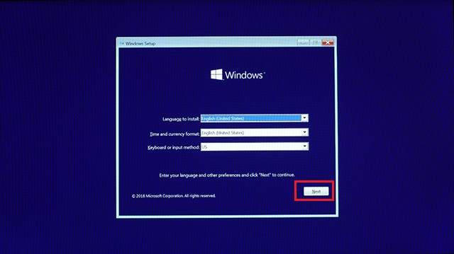 Use a Windows 10 Installation Disc or a Bootable Thumb Drive 2