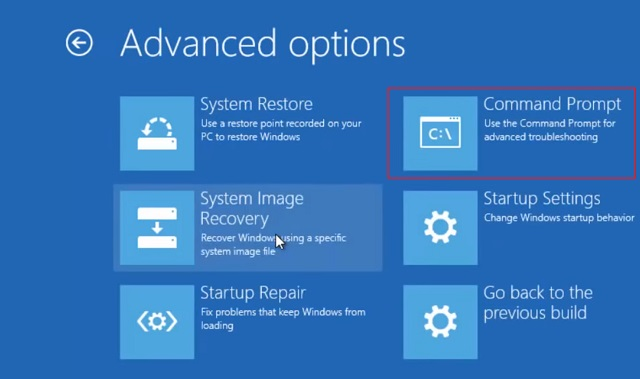 Use a Windows 10 Installation Disc or a Bootable Thumb Drive 4