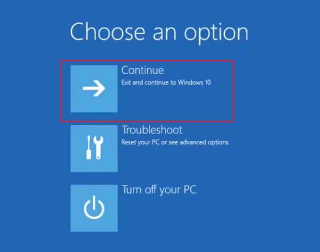 Use a Windows 10 Installation Disc or a Bootable Thumb Drive 5