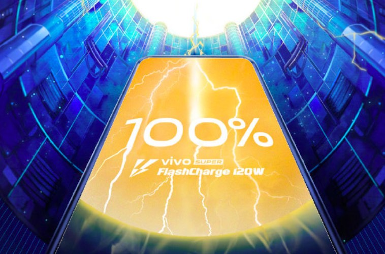 Vivo teases world's fastest 120W Super FlashCharge technology