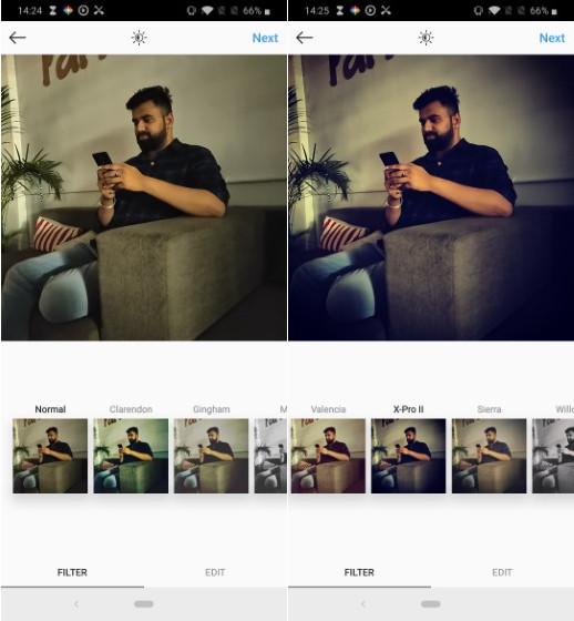 X-Pro II Instagram filter