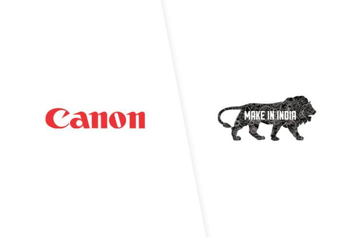 canon make in india