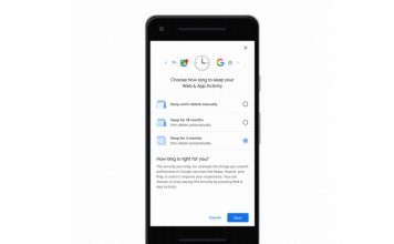 Google auto-delete location history and activity data