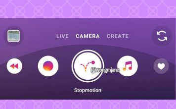 Instagram Stopmotion story mode