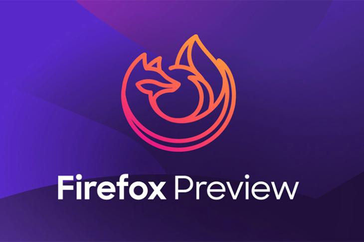firefox preview gets add-on support